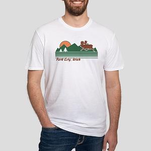 Park City Utah Fitted T-Shirt