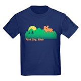 Park city utah Kids T-shirts (Dark)