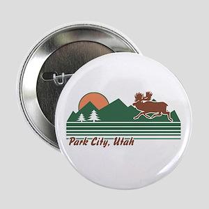 """Park City Utah 2.25"""" Button"""