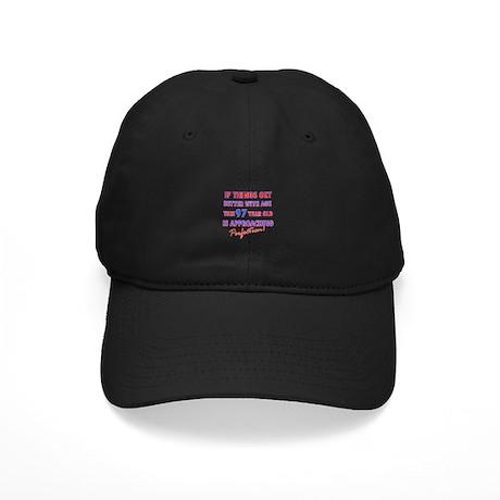 Funny 97th Birthdy designs Black Cap