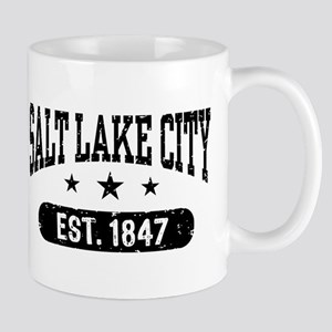 Salt Lake City Utah Mug