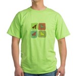 Chinese Crested Green T-Shirt