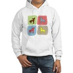 Chinese Crested Hooded Sweatshirt