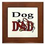Dog Dad Framed Tile