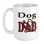 Dog Dad Large Mug
