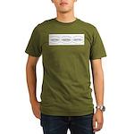 You-Nique Freak Organic Men's T-Shirt (dark)