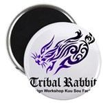 Tribal rabbit Magnet