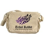 Tribal rabbit Messenger Bag