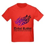 Tribal rabbit Kids Dark T-Shirt