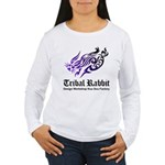 Tribal rabbit Women's Long Sleeve T-Shirt