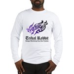 Tribal rabbit Long Sleeve T-Shirt