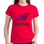 Tribal rabbit Women's Dark T-Shirt