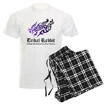 Tribal rabbit Men's Light Pajamas