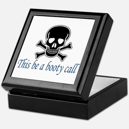 Pirate Booty Call Keepsake Box