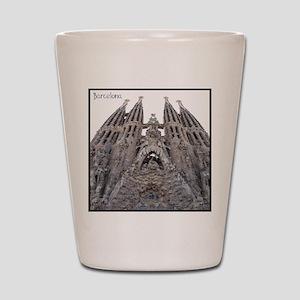 Barcelona Sagrada Shot Glass