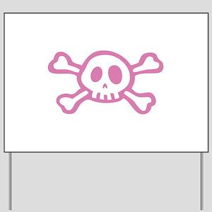 Cute Skull Yard Sign