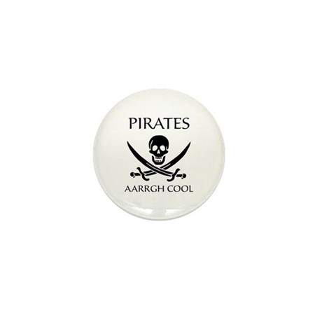 Pirate aarrgh cool Mini Button