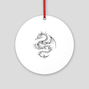 Dragon Ornament (Round)