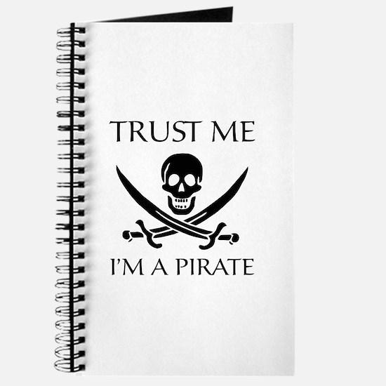 Trust Me I'm a Pirate Journal