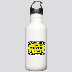 Westie PIT CREW Stainless Water Bottle 1.0L