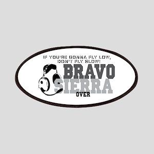 Bravo Sierra Avaition Humor Patches