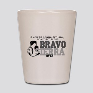 Bravo Sierra Avaition Humor Shot Glass
