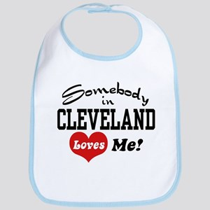 Somebody in Cleveland Loves Me Bib