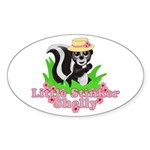 Little Stinker Shelly Sticker (Oval 10 pk)