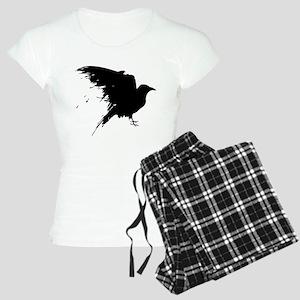 Grunge Bird Women's Light Pajamas