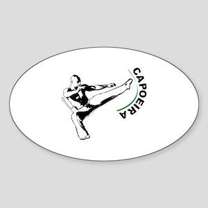 Capoeira Sticker (Oval)