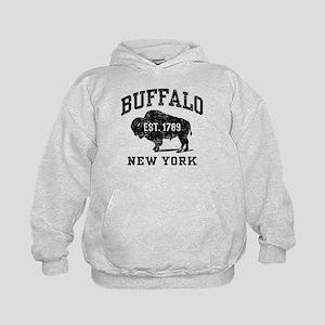 Buffalo New York Kids Hoodie