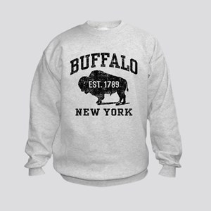 Buffalo New York Kids Sweatshirt