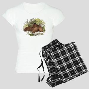 Hedgehogs Women's Light Pajamas