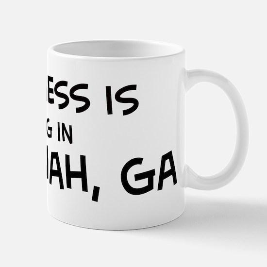 Happiness is Savannah Mug