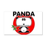 Panda Car Magnet 20 x 12