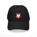 Panda Black Cap