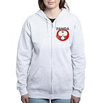 Panda Women's Zip Hoodie