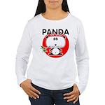 Panda Women's Long Sleeve T-Shirt