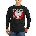 Panda Long Sleeve Dark T-Shirt