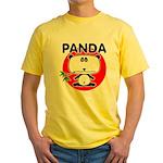 Panda Yellow T-Shirt