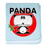 Panda baby blanket