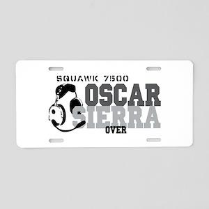 Aviation Gift Humor Aluminum License Plate