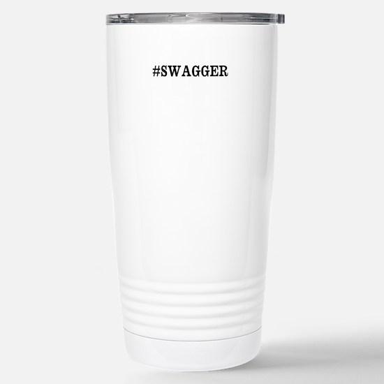 #Swagger Stainless Steel Travel Mug