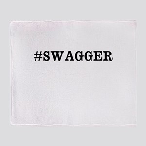 #Swagger Throw Blanket