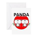 Panda 2 Greeting Cards (Pk of 20)