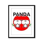Panda 2 Framed Panel Print
