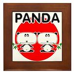 Panda 2 Framed Tile