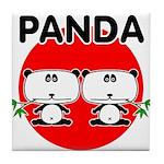 Panda 2 Tile Coaster