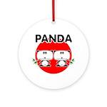Panda 2 Ornament (Round)