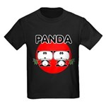 Panda 2 Kids Dark T-Shirt